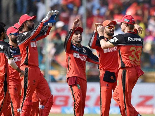 Test for bowlers as KKR face might of RCB batting