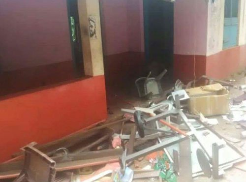 Bombs hurled at a LDF victory rallies; one dead, 8 injured