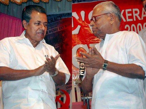 CPI(M) strongman Pinarayi Vijayan pips veteran Achuthanandan