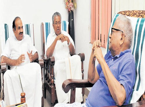 Ahead of swearing-in, a day of meetings for Pinarayi