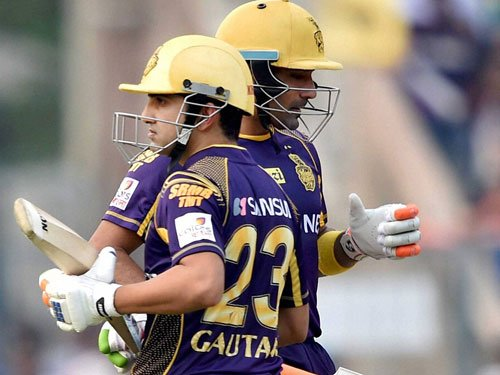 Spinners take KKR into IPL 9 play-offs