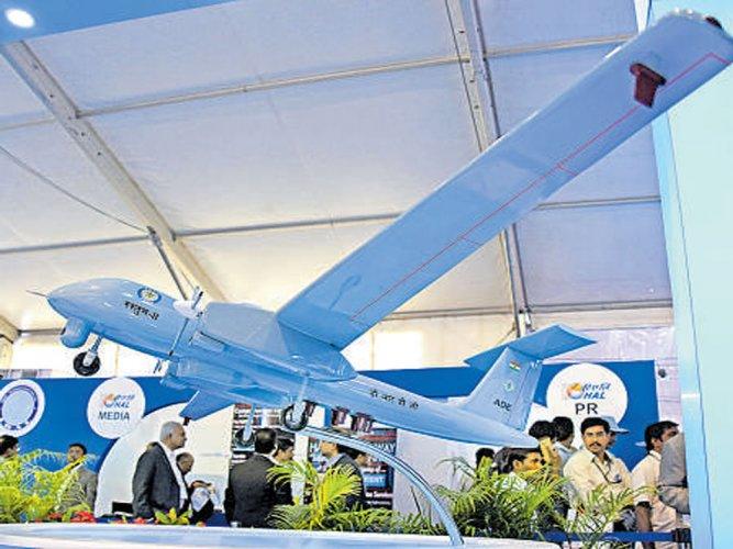 Rustom-II UAV to be tested in Chitradurga