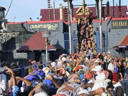 LDF supports restriction on women in Sabarimala