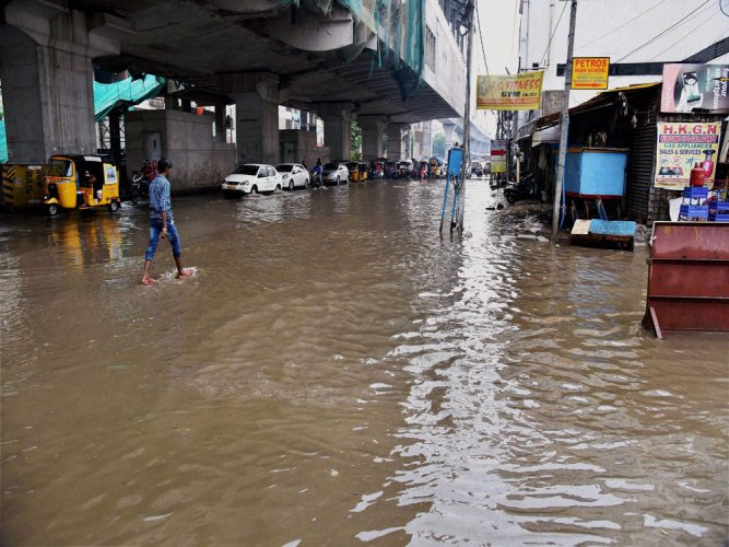 Hyderabad rains: KCR monitors situation; NDRF, Army kept on standby