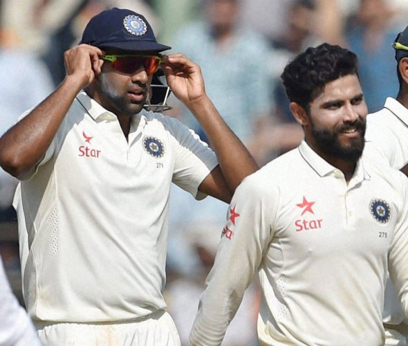 Teammates Ashwin, Jadeja turn rivals in battle for top spot