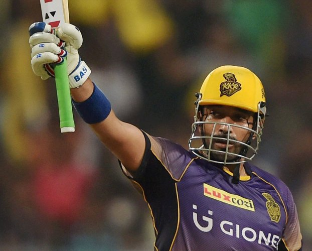 KKR beat Pune by seven wickets to jump to top spot