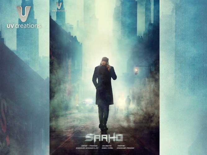 Prabhas reveals 'Saaho' first poster on his birthday