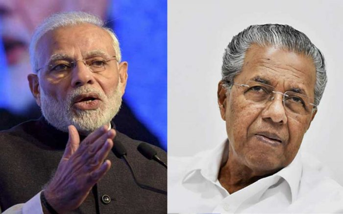 The Kerala CM wrote to the PM Modi on February 28, 2019 registering his objections to the handing over of the Thiruvananthapuram airport – and four other international airports – to the Adani group for a period of 50 years.
