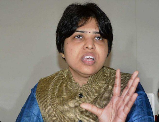 Activist Trupti Desai. PTI file photo
