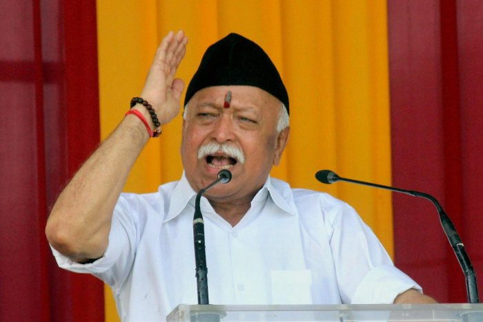 RSS Chief Mohan Bhagwat. (PTI file photo)