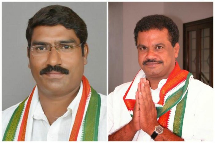 Congress MLAs S A Sampath Kumar (left) and Komatireddy Venkata Reddy were expelled from the Assembly and the decision of the House was challenged in the court. This case would also become infructuous, legal experts said. (file pic)