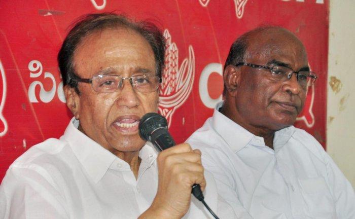 CPI General Secretary Suravaram Sudhakar Reddy. PTI File Photo.