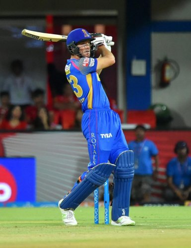 In imperious form over the last couple of weeks, Jos Buttler would be looking to once again anchor Rajasthan Royals on Tuesday night. PTI