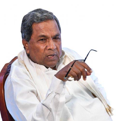 Former Karnataka Chief Minister Siddaramaiah. DH file photo