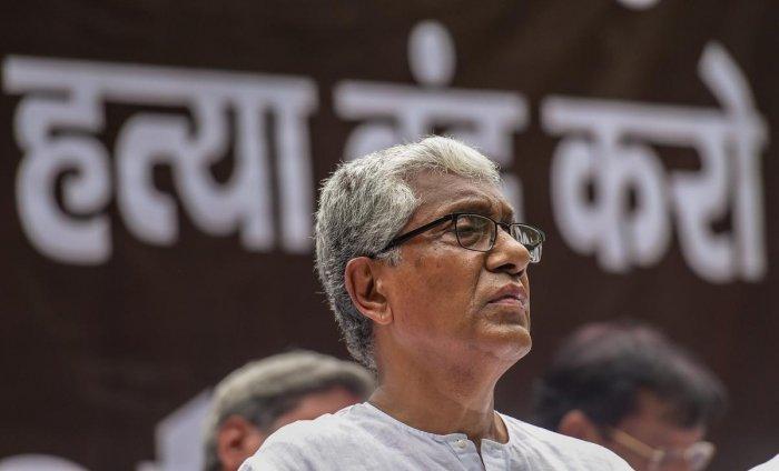 Tripura former Chief Minister Manik Sarkar. (PTI File Photo/Atul Yadav)