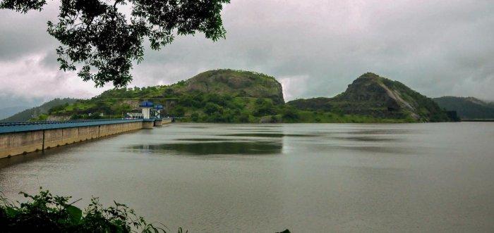 A view of the Idukki dam in Kerala. (PTI File Photo)