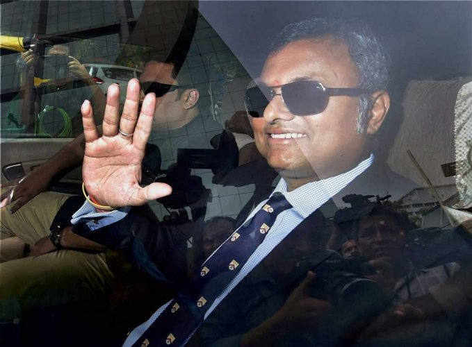 Karti Chidambaram is facing trial in corruption cases, including the INX media money laundering case. PTI file photo
