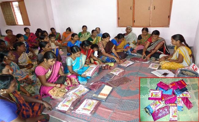 The government of Telangana has already placed orders for sarees from power loom centres in Sircilla district to provide employment to the weavers. The district authorities have already procured 40 lakh sarees and have sent them to other districts for distribution.