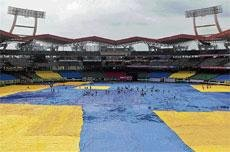 Not a ball bowled in Kochi