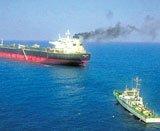 Italian oil tanker brought to Kochi, crew questioned