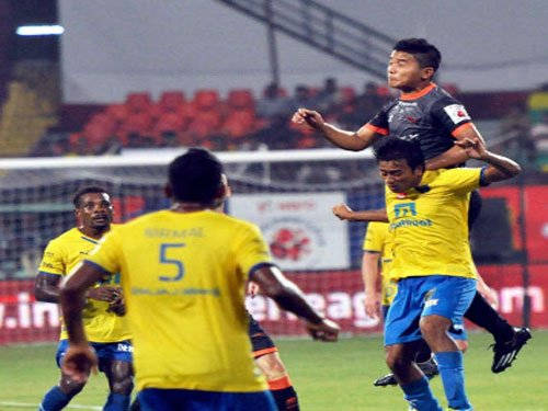 Dynamos play out yet another draw against Kerala Blasters