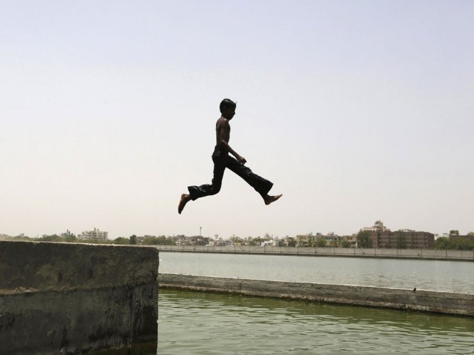 Blind Kerala boy swims across river, eyes more challenges