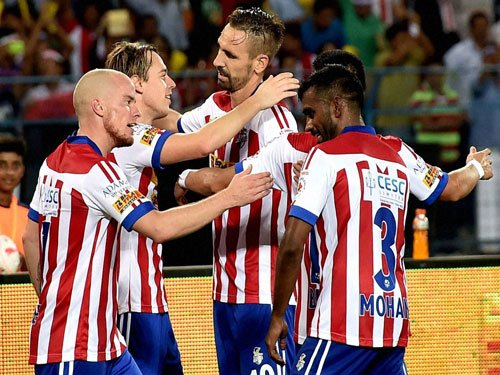 ATK beat Kerala to go top of table