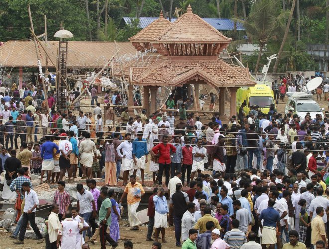 Kerala temple fire: Over 100 killed; 383 injured, Chandy orders judicial probe