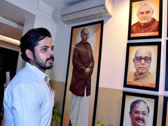 Sreesanth hopes to bowl BJP to maiden victory in Kerala