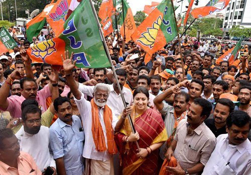 Campaigning ends in Kerala, Tamil Nadu, Puducherry