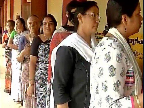 Polling begins in Kerala