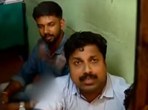 Cops manhandle mediapersons in Kozhikode