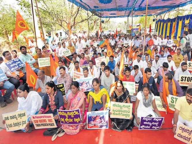 BJP condemns attacks on Sangh Parivar members in Kerala