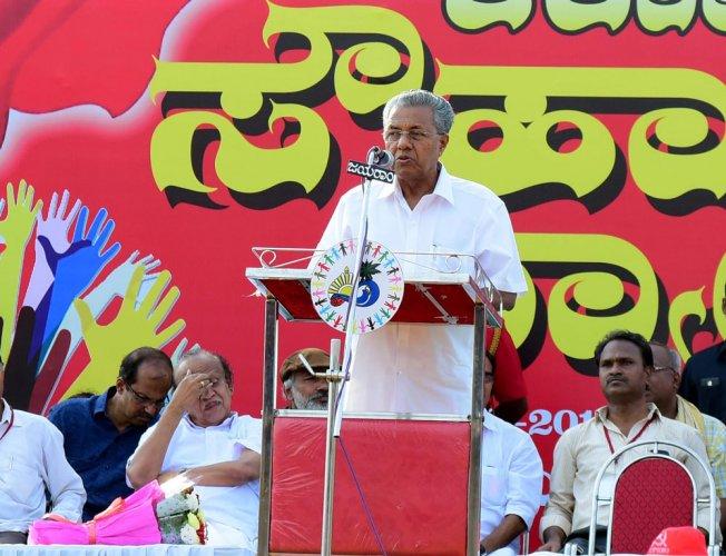 RSS bounty on Kerala CM's head draws flak
