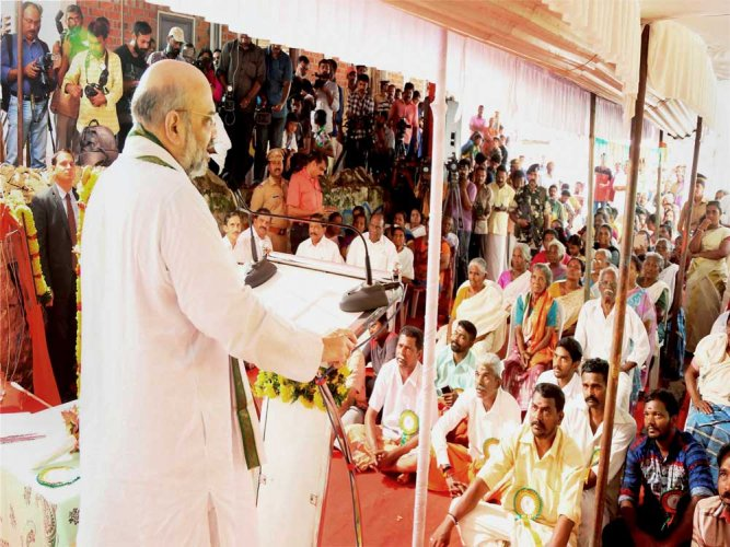 Amit Shah in Kerala to discuss strategies for 2019 Lok Sabha election