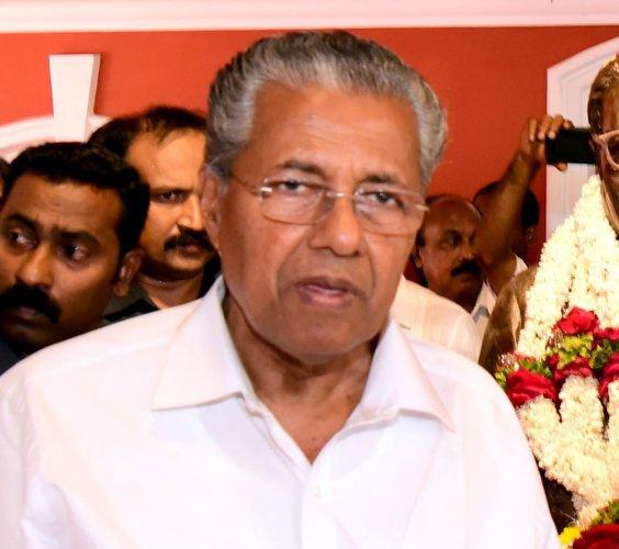 Don't mess with Kerala: CM Vijayan tells BJP