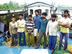 Fishermen from Kochi rescued