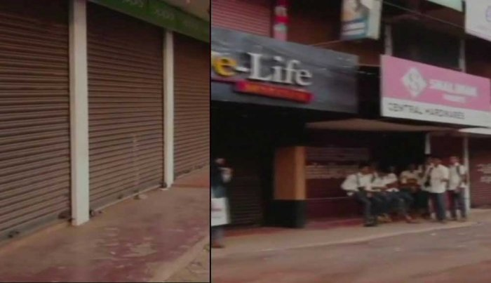 The attacks left Mahe and parts of the neighbouring Kannur district in Kerala tense on Tuesday. Image Courtesy: ANI/Twitter