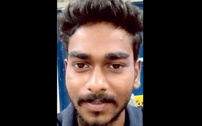 The body of Kevin P Joseph (26), a resident of S H Mount in Kottayam, was found in a stream in Chaliyekkara, about 20 km from Thenmala, in Kollam district, around 8.30 am on Monday.