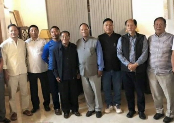Naga People's Front (NPF), the opposition party on Tuesday served show cause notices to six of its MLAs, a day after they extended their support to the Lok Sabha election candidate fielded by the ruling People's Democratic Alliance (PDA).