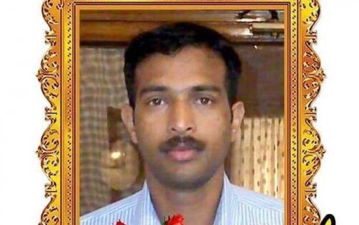 CRPF personnel Vasantha Kumar V V