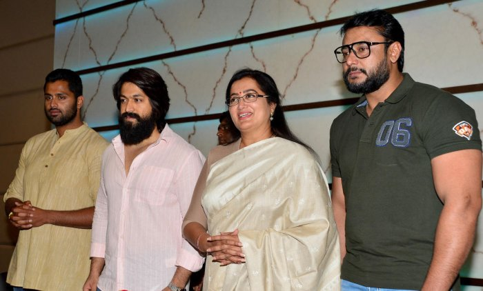"""The party's state general secretary, Arvind Limbavali has written to Union Home Minister Rajnath Singh urging him to provide Central Reserve Police Force (CRPF) protection to Sumalatha, her son Abhishek and actors Yash and Darshan, who are supporting her in the wake of """"violent actions"""" against them."""