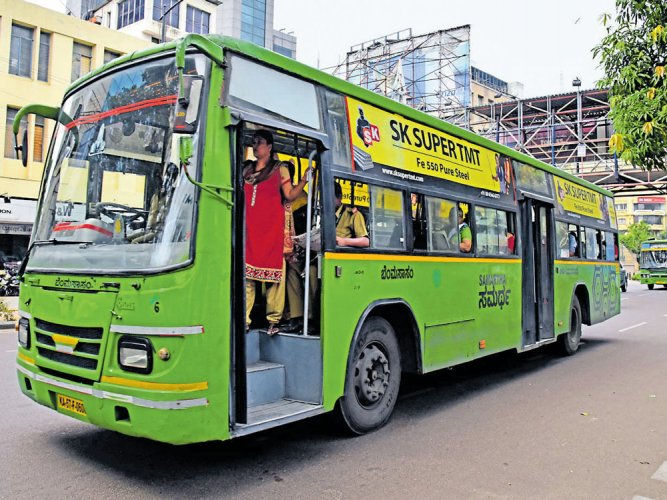 Yet another BMTC bus driver was viciously assaulted in a road rage incident.