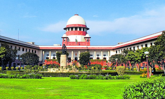 A view of the Supreme Court of India, in New Delhi. Pic for representation only