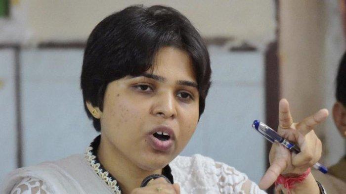 Bhumata Brigade activist Trupti Desai. (PTI file photo)