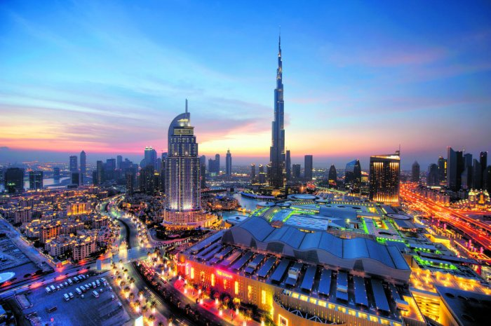 A view of the Dubai skyline. (pic for representation only)