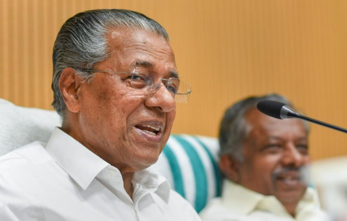 "BJP president Amit Shah's ""ramblings"" revealed the Sangh's indebtedness to the obsolete views of gender inequality propounded by Manusmriti, said Kerala CM Pinarayi Vijayan. PTI file photo"