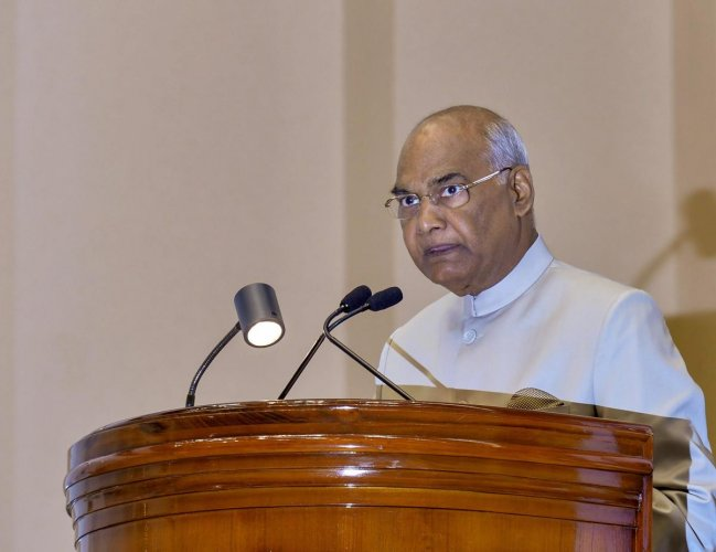 President Ram Nath Kovind. (PTI file photo)