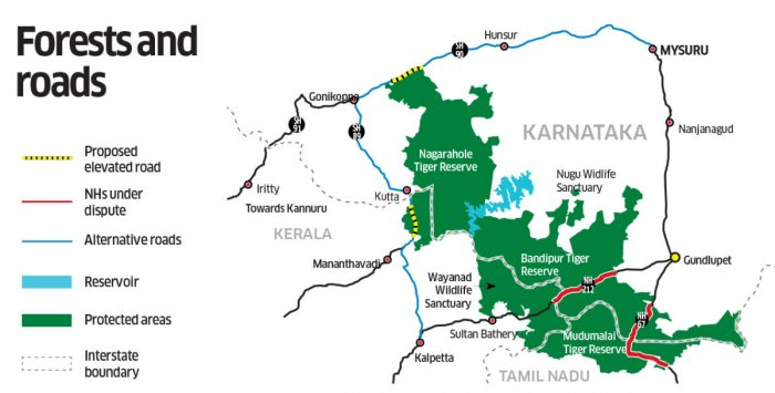 Bandipur Forest MAP