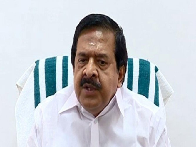 Leader of Opposition in Kerala Assembly Ramesh Chennithala. Image courtesy Twitter